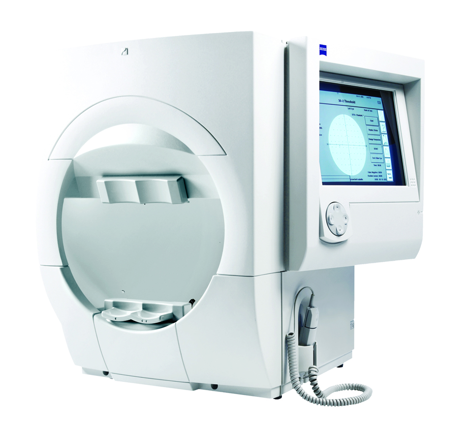 การตรวจลานสายตา (Perimetry) ด้วยเครื่องคอมพิวเตอร์